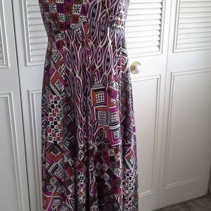 Robbie Bee Halter Maxi Dress size 10